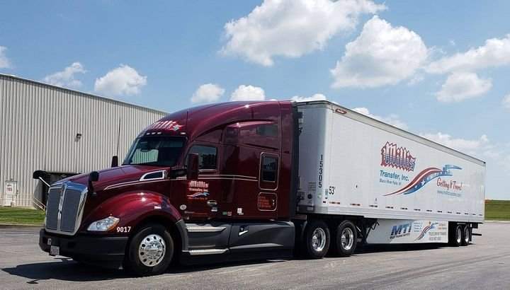 Heartland Express has acquired Wisconsin-based dry van truckload carrier Millis Transfer at a value of approximately $150 million.  - Photo via Millis Transfer Facebook