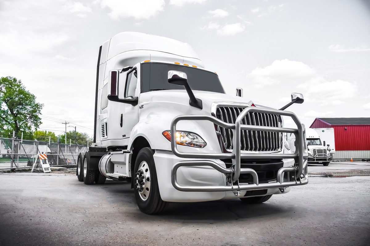 Mesilla Valley Transportation announced that based on testing completed by its subsidiary, MVT Solutions, it is now installing Ex-Guard LT series grille guards on more than 1,300 trucks.  - Photo: Mesilla Valley Transportation