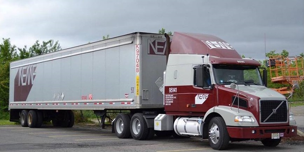 After two consecuitive years of losses and increases in overhead, New England Motor Freight has...