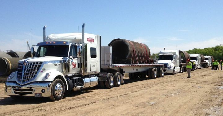 PGT's Project Cargo Management Division targets customers who need help moving high-volume, heavy, valuable or multifaceted freight.  - Photo via PGT Trucking