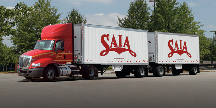 In a solid second quarter, Saia reported increases to LTL shipments and tonnage resulting in record quarterly earnings per share.  - Photo courtesy Saia