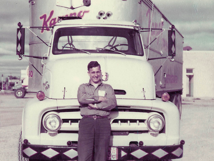 In 1969, Schneider acquired Kempo Transit, a 50-truck regional milk and fuel oil hauler which became the company's Bulk division and 50 years later is still going strong.  - Photo courtesy Schneider