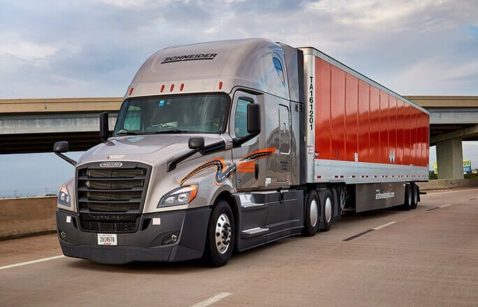 To optimize the movement of freight through its 24 terminal networks in the U.S., Schneider is broadening its middle-mile configuration to include van truckload and intermodal owned assets.