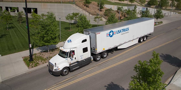 USA Truck says the acquisition will help enhance its capacity utilization and maintenance costs.
