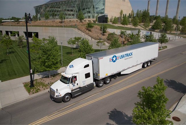 USA Truck says the acquisition will help enhance its capacity utilization and maintenance costs.  - Photo courtesy USA Truck