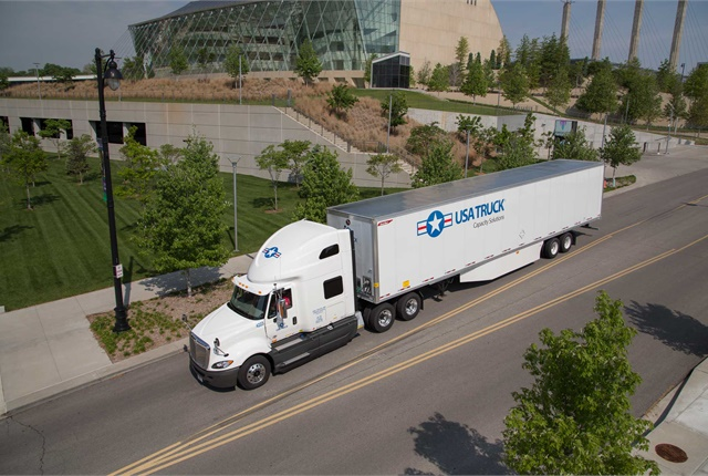 USA Truck is upping pay for regional drivers.  - Photo via USA Truck