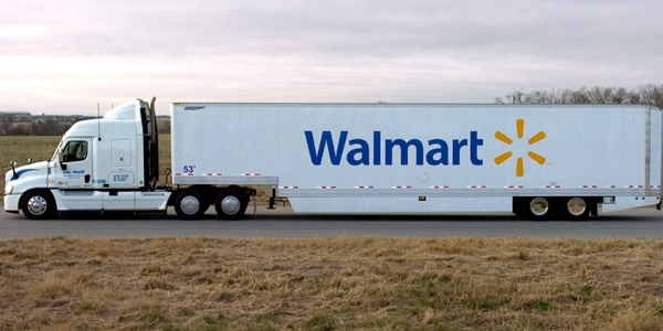 Beginning in February, Walmart truck drivers will receive a 1-cent per mile and a 50-cent...