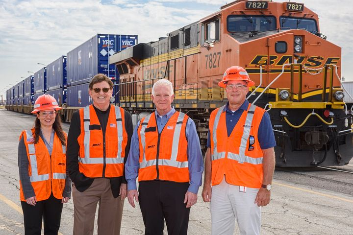 By the end of the year, YRC and BNSF Railway Company will have onboarded more than 600 branded intermodal containers to improve efficiency.