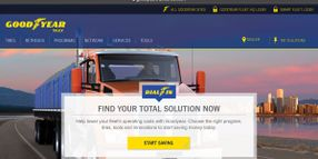 Goodyear to Launch Tire-Buying Portal for Small Commercial Fleets, Owner-Operators