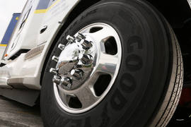 Goodyear Rolls Out High-Mileage LHS Steer Tire