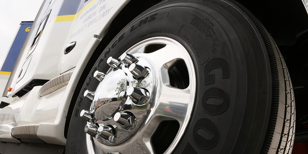 The LHS offers more miles and complements Goodyear Endurance LHD drive tire.