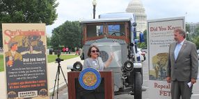 Truck Manufacturers, Dealers Hold Rally to Urge Federal Excise Tax Repeal