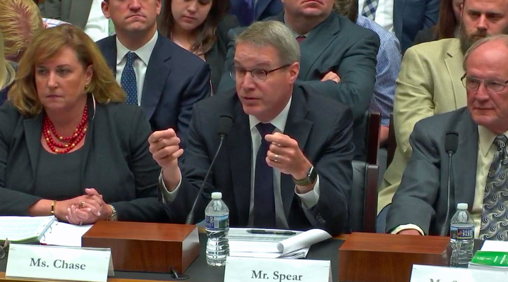 Appearing before the House Transportation and Infrastructure Subcommittee, ATA's Chris Spear said that the group would work with legislators to guide trucking into the future.