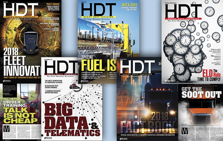 Heavy Duty Truckinghas assembled an editorial advisory board,made upof 12 executives representing fleets of a variety of sizes and types, across multiple areas of responsibility and expertise.  -