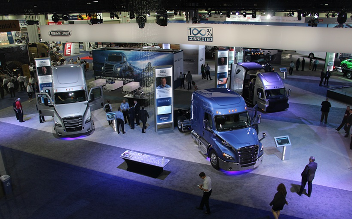 An expanded North American Commercial Vehicle Show is set for Oct. 2019 at the Georgia World Congress Center in Atlanta, Ga.  - Photo: Evan Lockridge