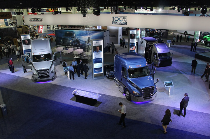 Online registration for the 2019 North American Commercial Vehicle show in Atlanta, Georgia, is now open.