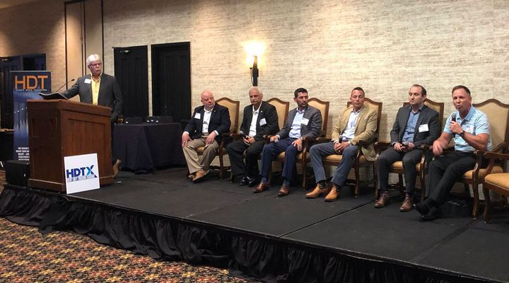 HDT 2019 Truck Fleet Innovators talk tech at HDTX.