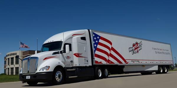 Heartland Express plans to increase truck driver pay across all divisions on July 7.