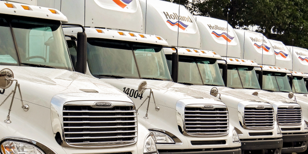 Holland anticipates gaining more than 350 new truck drivers through its new apprentice program...