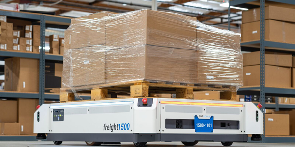 Honeywell says its new partnership with Fetch Robotics will allow it to offer a warehouse robots...