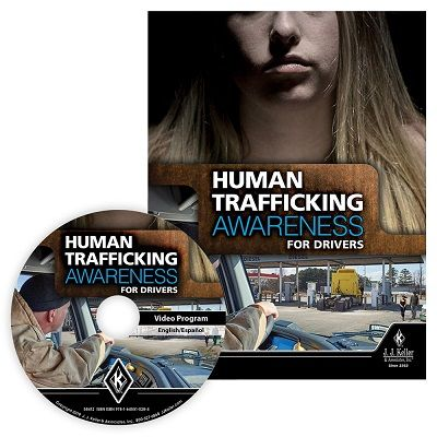 J. J. Keller developed its new Human Trafficking Awareness for Drivers training program, which teaches drivers what human trafficking is and how to help potential victims. - Photo via J.J. Keller