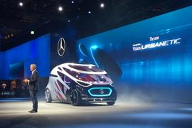 Mercedes-Benz Plans Autonomous Vans for Freight, Passengers