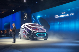 Mercedes-Benz Shows Autonomous Van Concept for Freight, Passengers