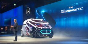 Mercedes-Benz Shows Autonomous Van Concept for Freight, Passengers