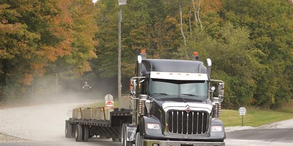 Navistar has recalled certain International HX severe duty trucks for an improperly routed air...