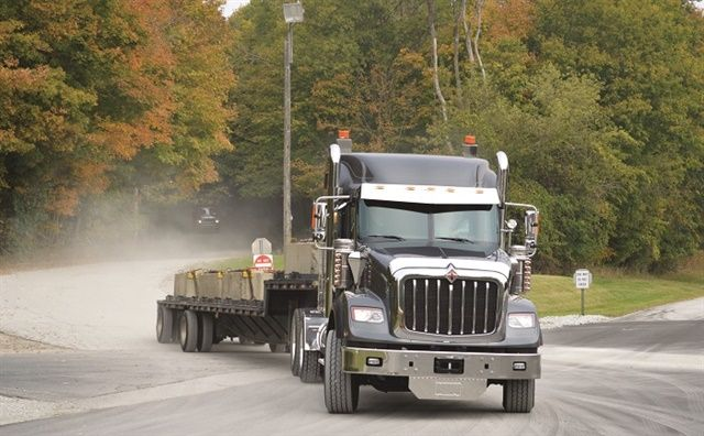 Navistar has recalled certain International HX severe duty trucks for an improperly routed air supply line that could cause issues with the stability control system.
