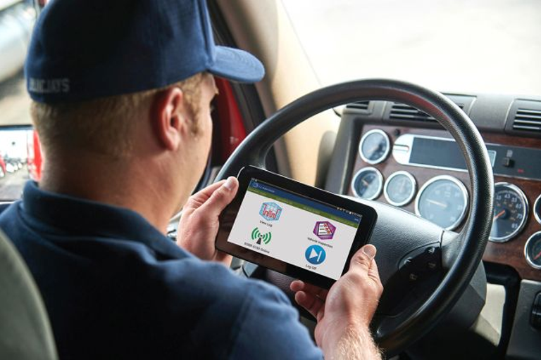 The Trucking Alliance wants intrastate drivers to be required to use electronic logging devices...