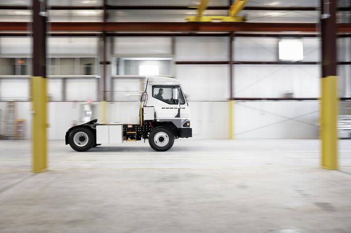 Kalmar has produced a battery-electric verison of its T2 terminal tractor.Photo: Kalmar