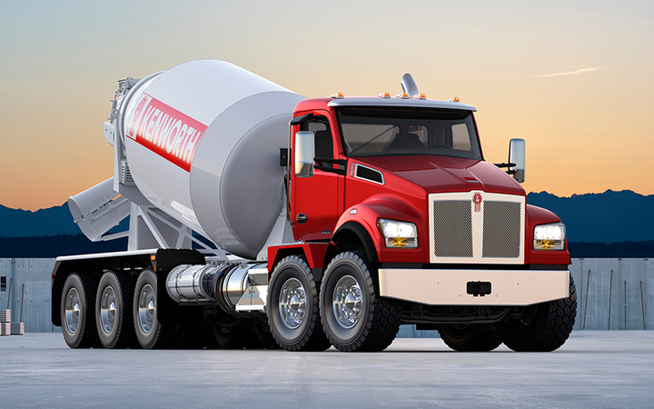 Photo courtesy of Kenworth  -