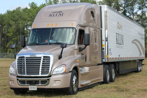 KLLM has upped pay for solo and team truck drivers for the second time in 2018.  - Photo courtesy KLLM Transport Services