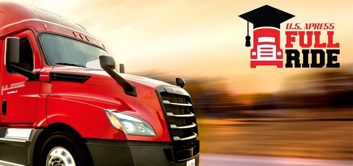 U.S. Xpress has launched a college scholarship program for truck drivers and their families, covering the tuition costs of earning a bachelor's or master's degree.