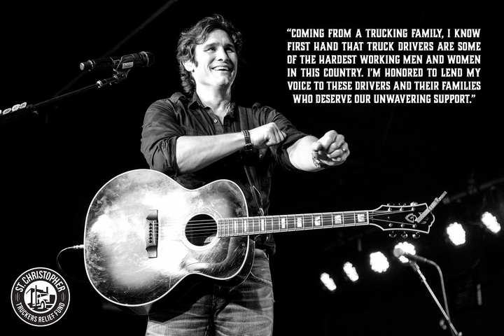 The St. ChristopherTruckers Relief Fund has teamed up with Grammy nominated country music artist Joe Nichols to help raise awareness for the organization's mission.  - Photo courtesy St. ChristopherTruckers Relief Fund