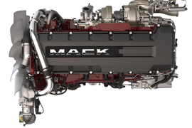 Mack Debuts MP 8HE Engine and HE+ Fuel-Economy Package