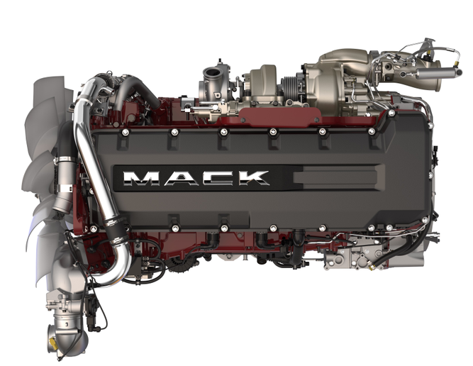 Mack MP 8HE 13-liter engine