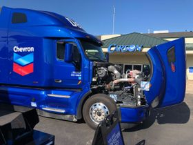 Chevron Unveils High-Tech Rolling Oil Education Lab