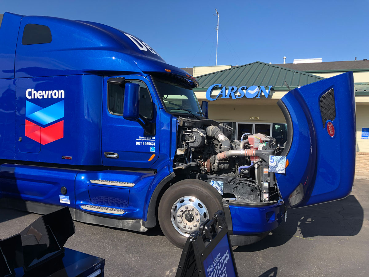 Chevron Unveils High-Tech Rolling Oil Education Lab