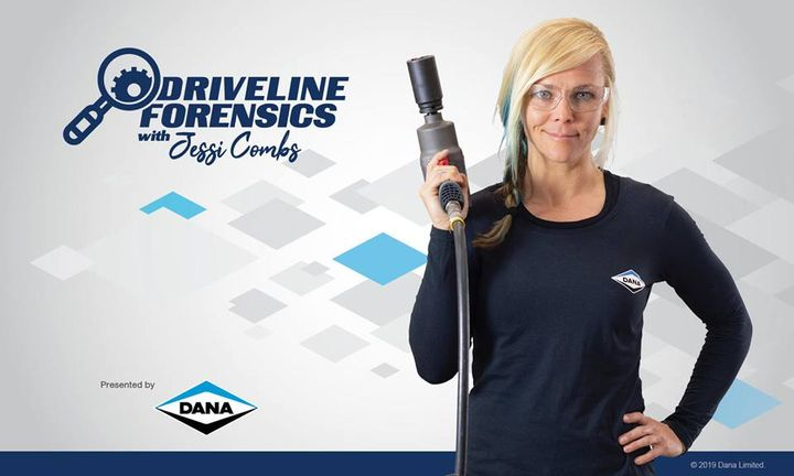 Dana's new Driveline Forensics video training series educates commercial-vehicle technicians on the proper installation and maintenance of Dana driveline components.