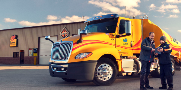 Navistar's warranty performance and service partnership agreement with Love's and Speedco is now...