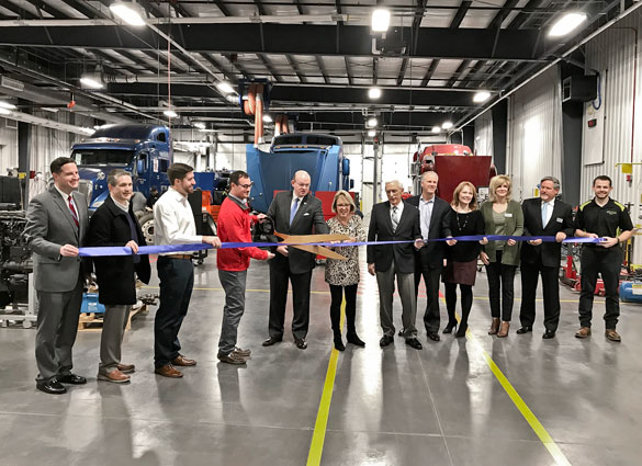 MHC contributed to funding for an expansion to Ozark Technical Community College's diesel technician training program.  - Photo courtesy MHC