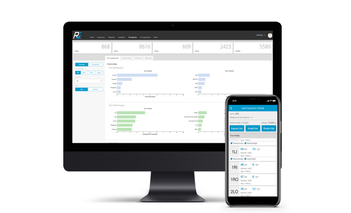 Dana Incorporated has released Rhombus TireAnalytics 3.0 with new capabilities to help fleets reduce tire costs.  - Photo via Dana Incorporated