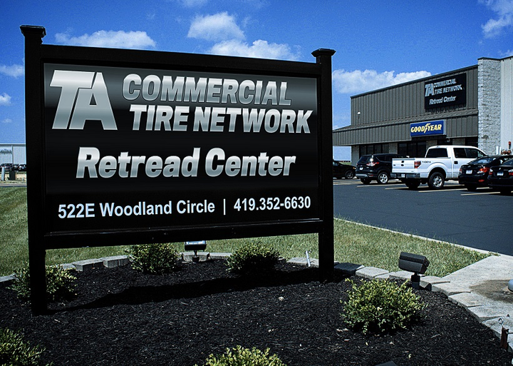 TravelCenters of America has opened its first retread location, the TA Commercial Tire Network Retread Center, in Bowling Green, Ohio.