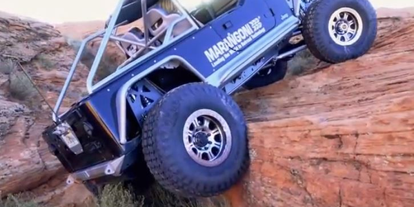 Marangoni Tread found the toughest terrain possible for a new video on the values of tire...