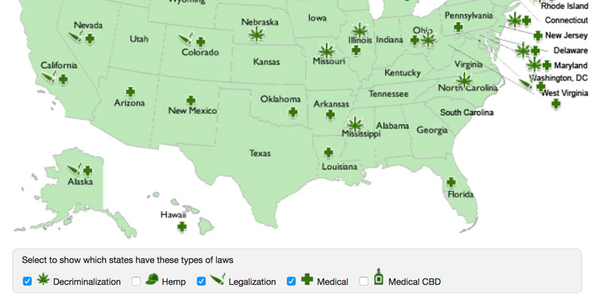 Some form of marijuana use is legal in a majority of states today -- complicating fleet...