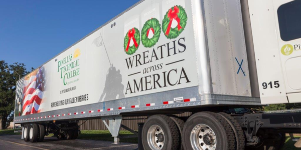 New permanent trailer wraps make it possible for trucking companies to express their support of...