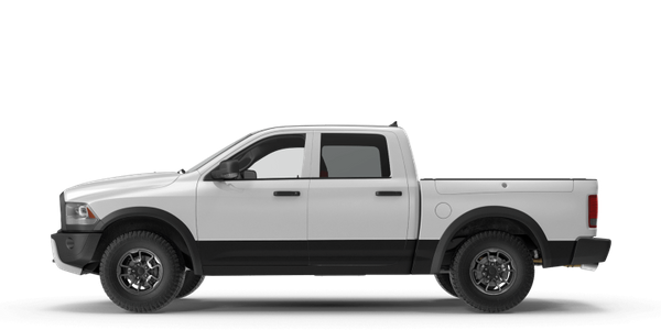 A natural gas-fueled pickup truck.