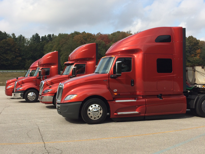 Although OEMs report strong order books, ACT Research suggests a strong correction for the Class 8 truck market is coming soon. 